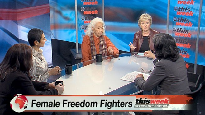 VIDEO: Tina Brown, Dr. Nawal El Saadwi, Zainab Salbi and Sussan Tahmasebi.