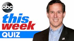 This Week- Rick Santorum