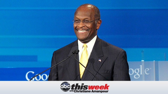 PHOTO: Herman Cain on This Week