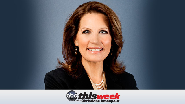 "PHOTO: Rep. Michele Bachmann, R-Minn., will appear on ""This Week,"" Oct. 30, 2011."