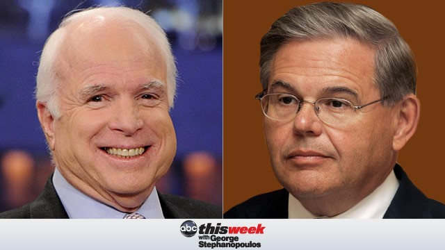 Senator John McCain and Senator Robert Menendez on This Week with George Stephanopoulos