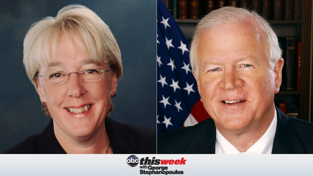 Sen. Patty Murray and Sen. Saxby Chambliss