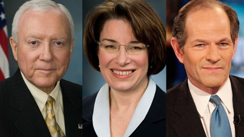 tw Hatch Klobuchar Spitzer 20130712 vs 2 wblog Coming Up on This Week: Sens. Orrin Hatch and Amy Klobuchar; Eliot Spitzer