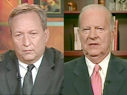 James Baker and Lawrence Summers