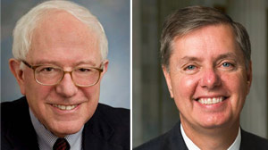This Week - Sens. Lindsey Graham and Bernie Sanders.