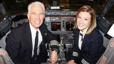 PHOTO: Jen Byrne said flying with her dad is what Ive wanted since I was 8 years old.