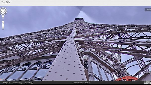 HT google Eiffel Tower nt 130716 16x9 608 Instant Index: Tourism, the Google Way