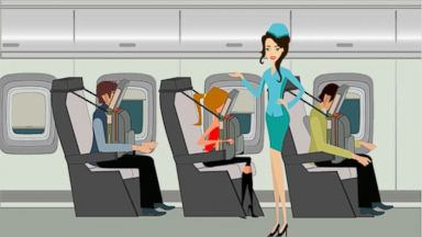 VIDEO: Boeing files a patent for a contraption that would allow passengers to sleep upright.