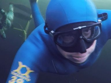 WATCH:  The Arctic Free Divers of Russia