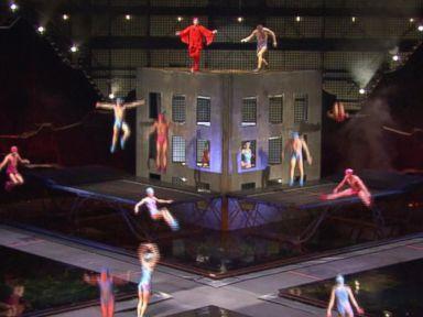 Watch:  Backstage at La Nouba at Walt Disney World