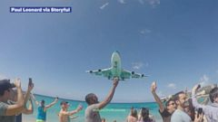 VIDEO: KLM will no longer fly Boeing 747s to the Caribbean islands airport.
