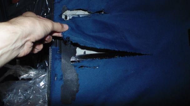 ABC 2020 luggage 5 jtm 140115 16x9 608 PHOTOS: Argentina Couples Lost Luggage Returned Smashed, Items Missing