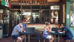 PHOTO: Hanalei Pizza in Kauai, Hawaii