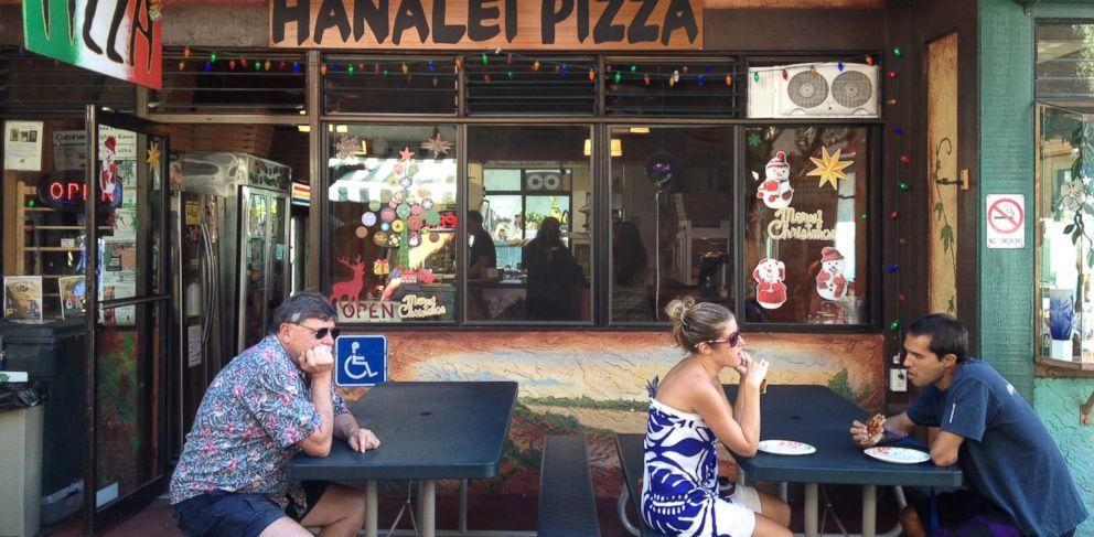 PHOTO: Hanalei Pizza in Kauai, Hawaii