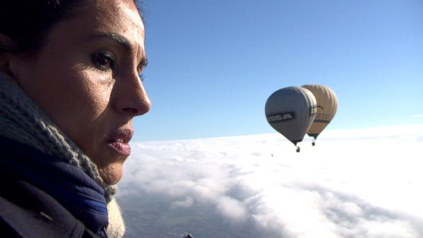 ABC lama hasan jef 140319 16x9 608 Facing Fear of Heights With French Daredevils in Death Defying Hot Air Balloon Stunt