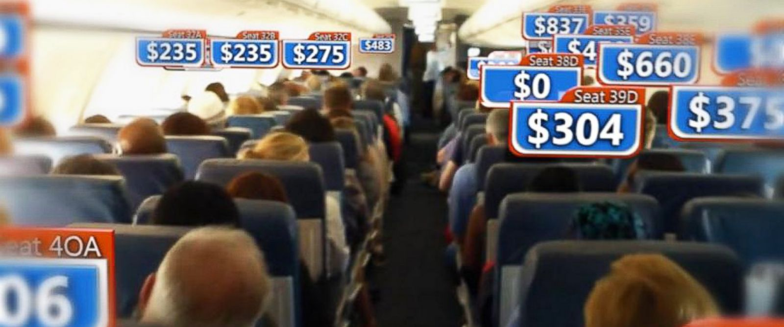 PHOTO: Study shows you might be paying up to eight times more for your ticket compared to other passengers.