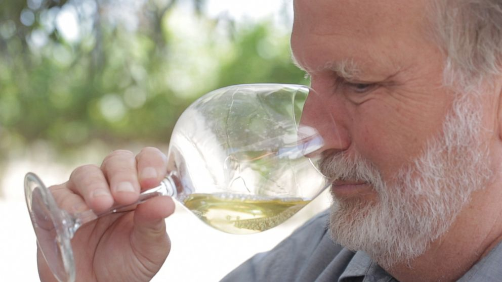 PHOTO: David Graves, Co-Founder of Saintsbury Vineyard and Winery in Napa, California is seen here.