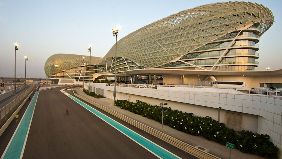PHOTO:  Yas Viceroy Hotel