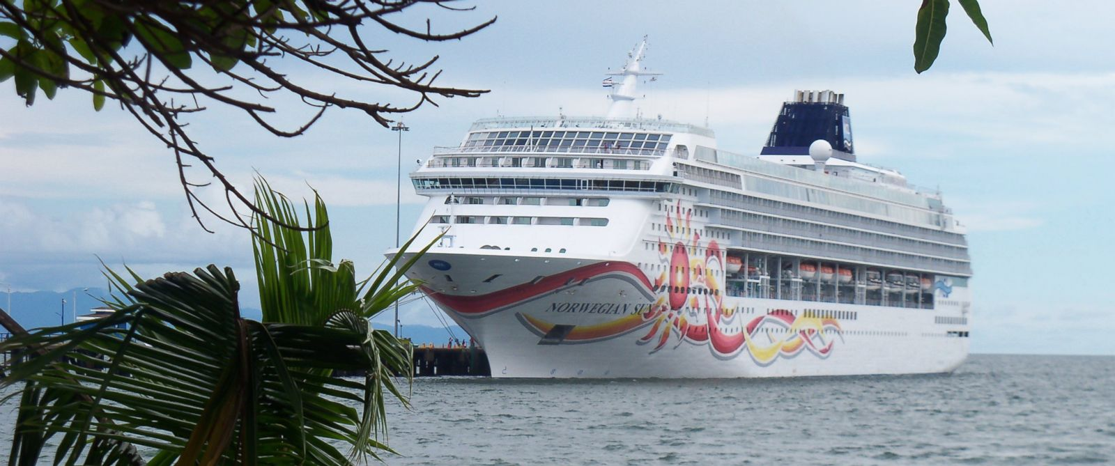 PHOTO: In this Oct. 19, 2014 file photo, the cruise ship Norwegian Sun is docked for a shore day in Puntarenas, Costa Rica.