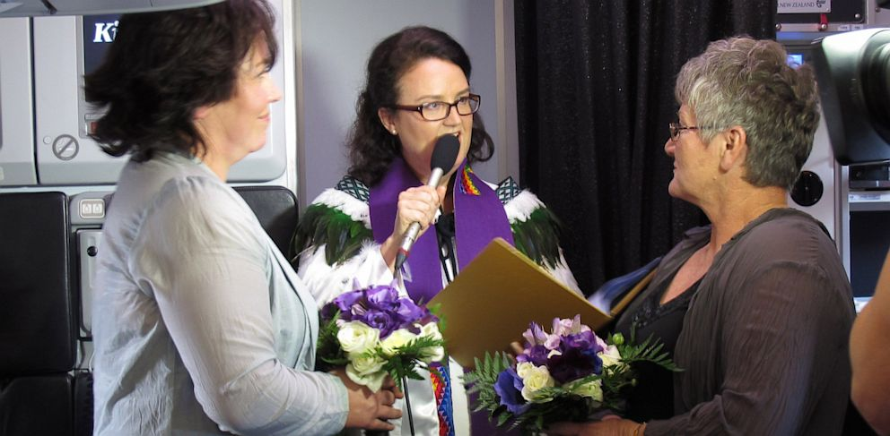 PHOTO: Air New Zealand Marries Same-Sex Couple