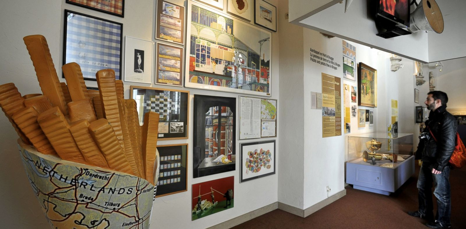 PHOTO: The Frietmuseum in Bruges, Belgium