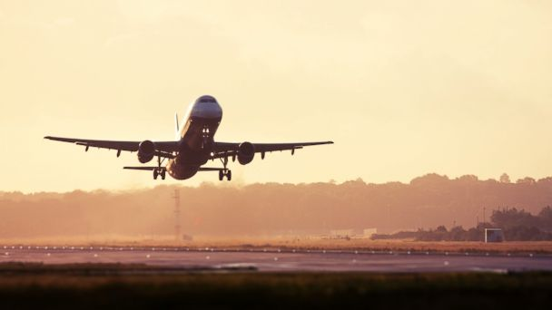 PHOTO: An airplane takes off from the runway in this undated photo.
