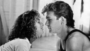 PHOTO: Jennifer Grey and Patrick Swayze in a scene from the movie Dirty Dancing.
