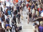 PHOTO: A crowded airport is pictured in this stock image.
