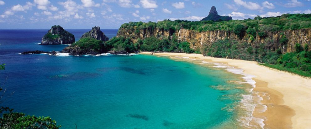 PHOTO: Baia do Sancho, Fernando de Noronha, Brazil has been named the best beach in the world by TripAdvisor.