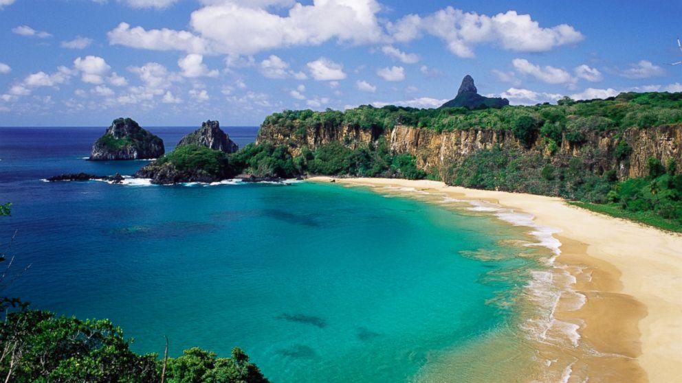 PHOTO: Baia do Sancho, Fernando de Noronha, Brazil has been named the best beach in the world by TripAdvisor.