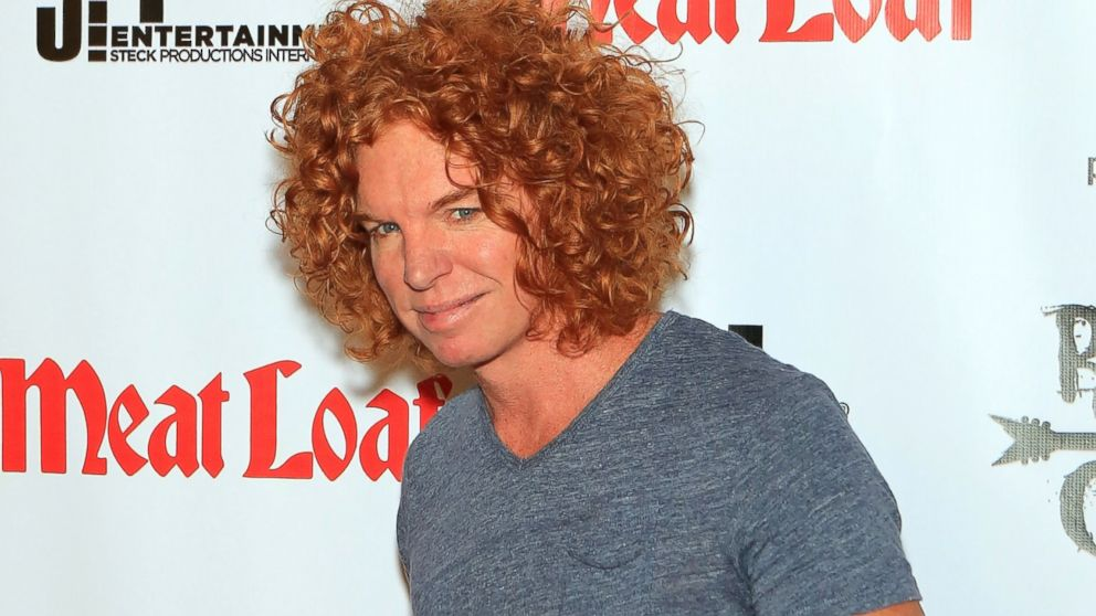 "PHOTO: Carrot Top arrives at the show ""RockTellz & CockTails presents Meat Loaf"" at Planet Hollywood Resort & Casino, Oct. 3, 2013, in Las Vegas."