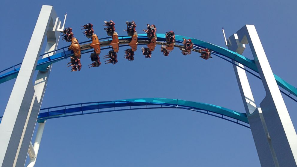 PHOTO: A ride at Cedar Point is pictured in Sandusky, Ohio on August 21, 2013.