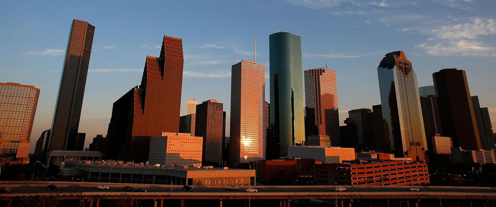 PHOTO: A view of the Houston skyline in Houston, Tex., March 26, 2013.
