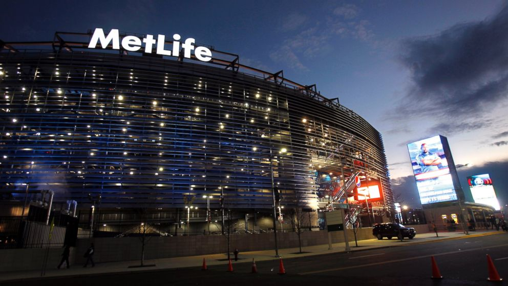 PHOTO: In this file photo, the exterior of MetLife Stadium is pictured on Jan. 1, 2012 in East Rutherford, N.J.
