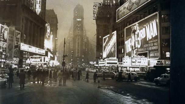 """PHOTO: New York Citys """"Great White Way."""""""