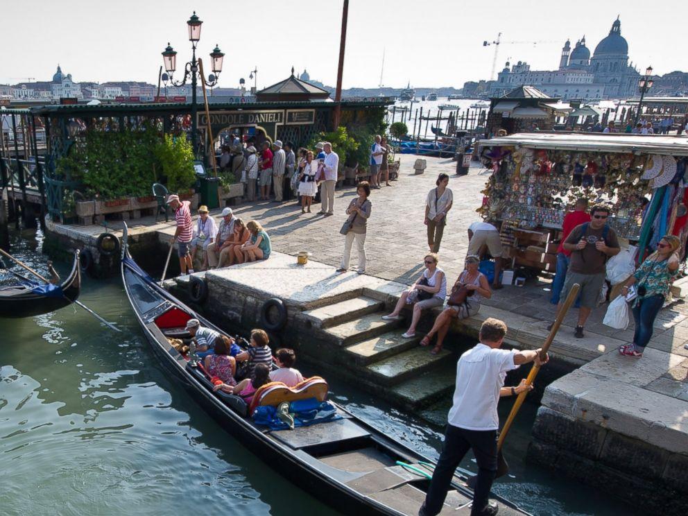PHOTO: The Ponti Della Paglia is pictured on Sept. 9, 2011 in Venice, Italy.