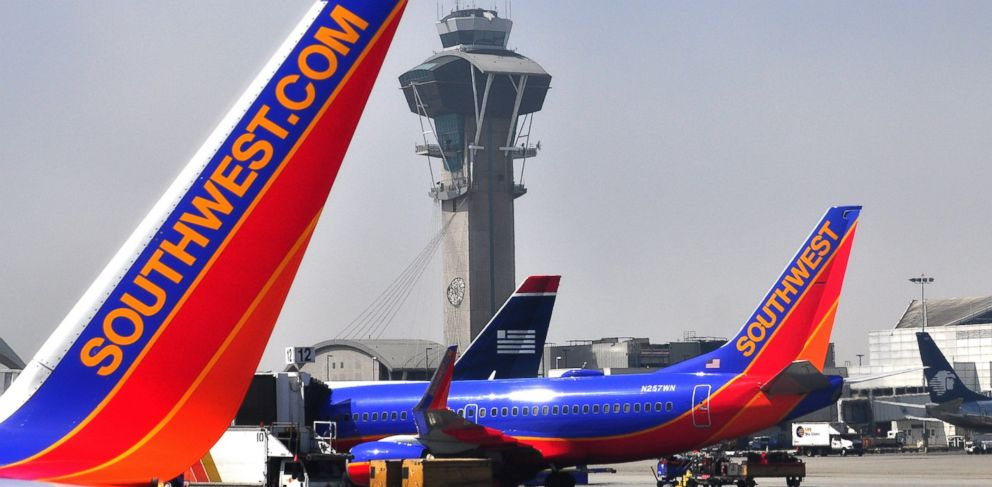 PHOTO: In this file photo, a Southwest Airlines Boeing 737 aircraft is serviced at Los Angeles International Airport on May 16, 2013 in Los Angeles.