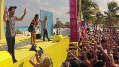 PHOTO: mtvU Spring Break 2014 is pictured at the Grand Oasis Hotel on March 21, 2014 in Cancun, Mexico.