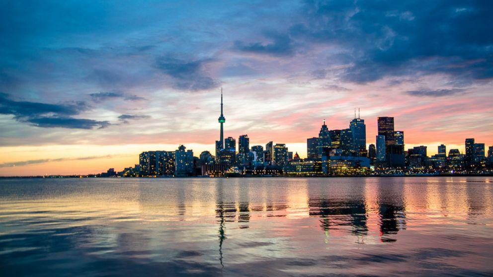 PHOTO: The Toronto skyline.