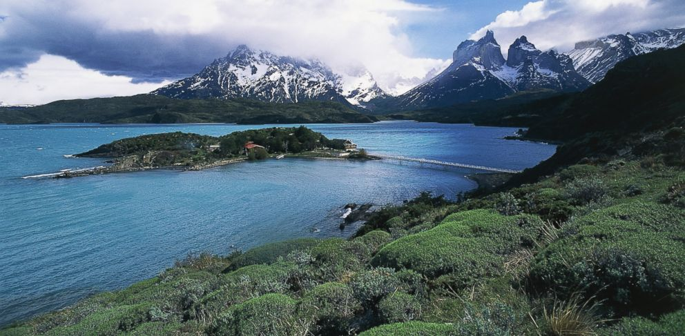 PHOTO: Pehoe Lake in Torres del Paine National Park in Chile.