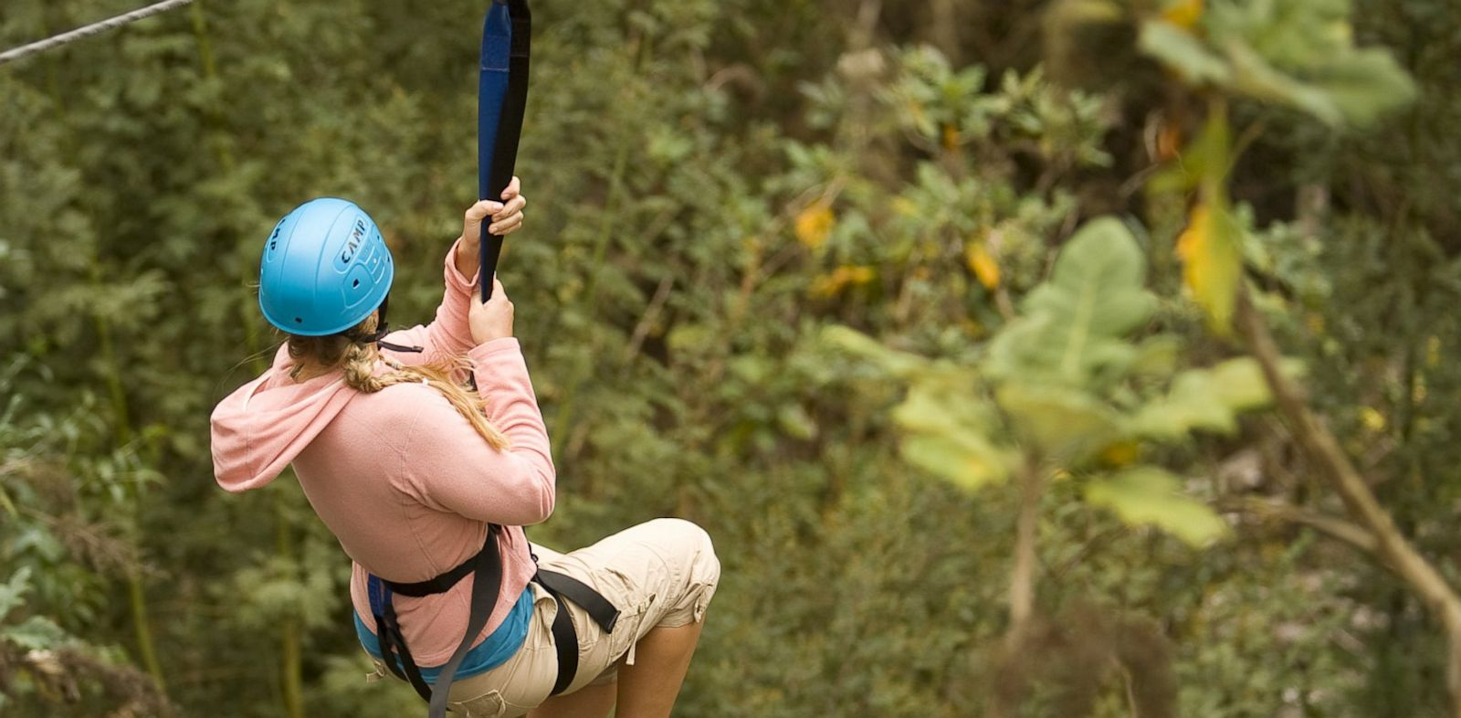 PHOTO: Gabe Saglie recommends skipping the typical Hawaiian helicopter tours in favor of trying Kapalua Adventures, one of the countrys largest zip line courses.