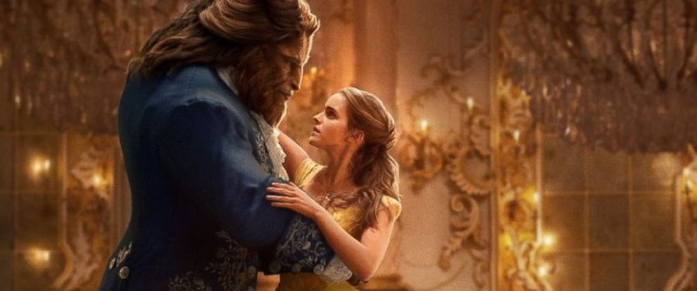 "PHOTO: Emma Watson and Dan Stevens in the movie, ""Beauty and the Beast,"" 2017."