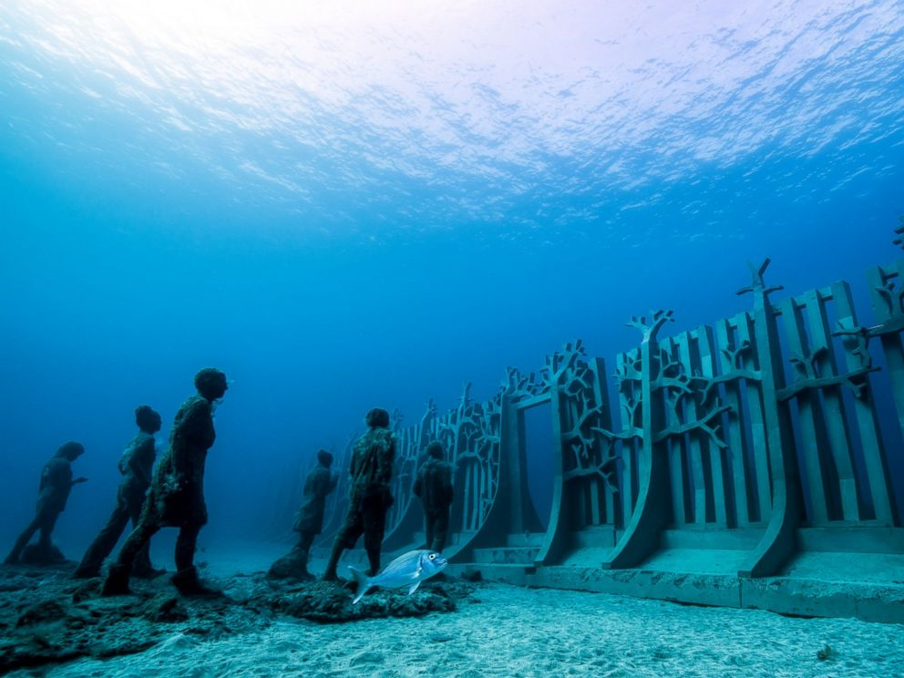 PHOTO: The Museo Atlantico is Europe's first underwater museum.