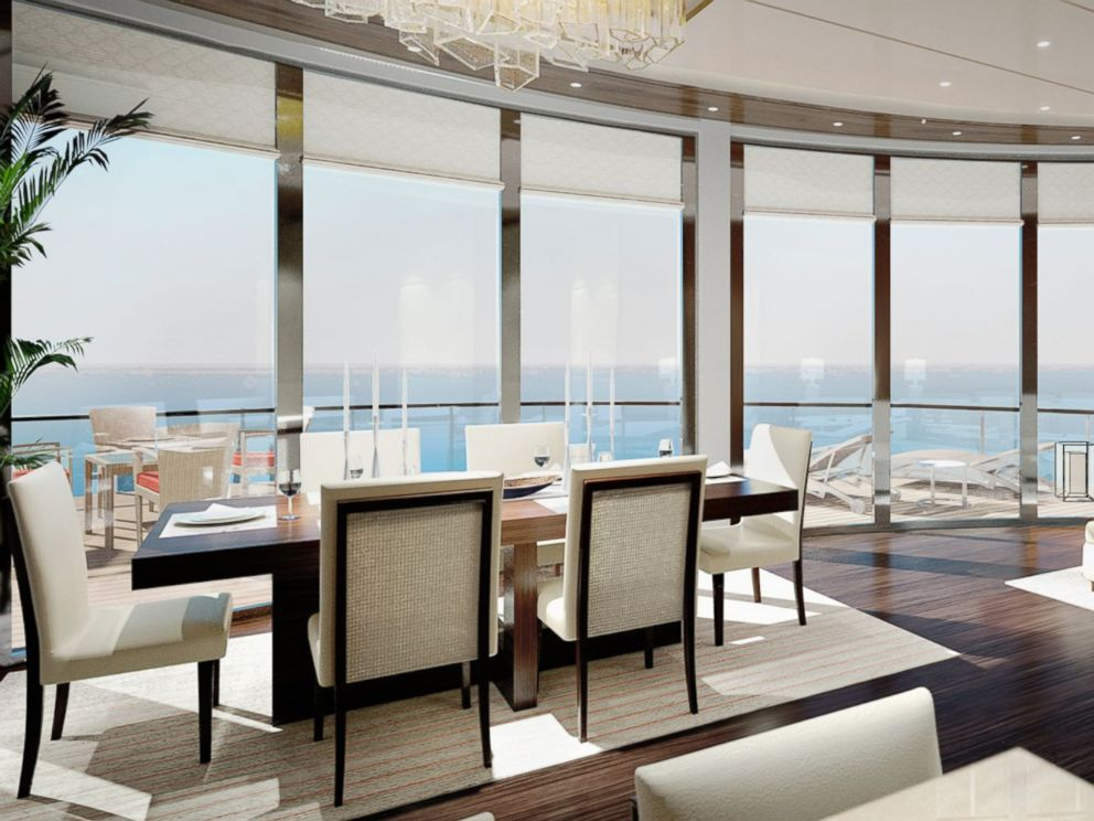 PHOTO:Ritz Carlton is venturing into the yacht business. This is a what the owners suite will look like on one of the yachts.