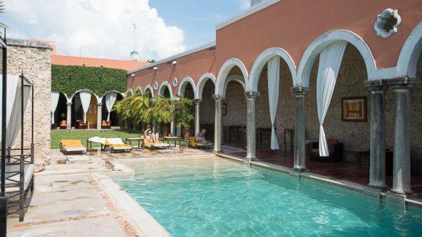 PHOTO: The Hotel Hacienda Merida is pictured here.