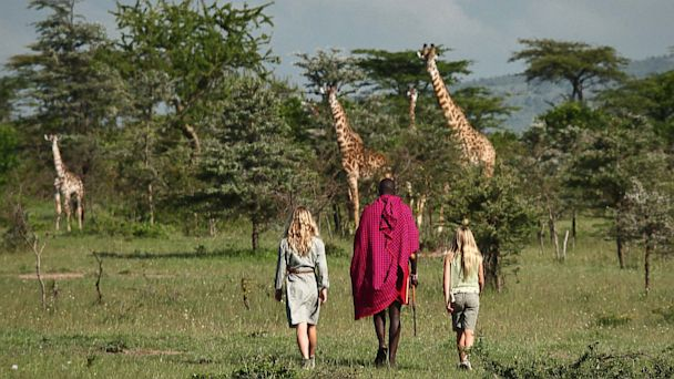 Maasai Warrior School with Cottars