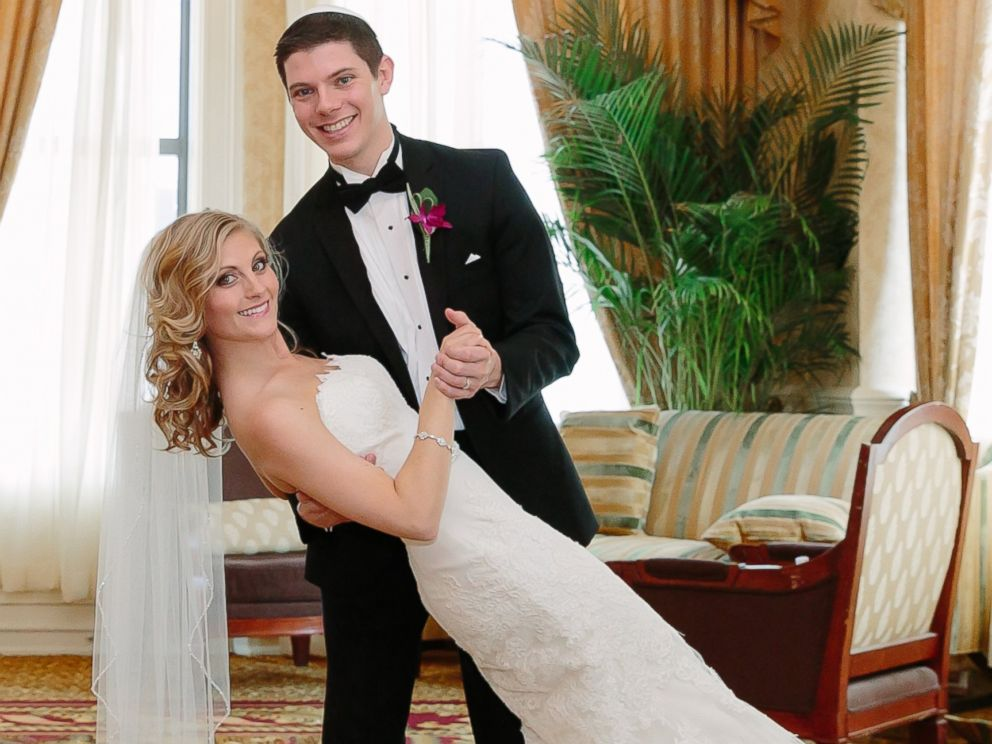 PHOTO: June 29, 2014: Andrea (Winter) Kitsis & Robert Kitsiswere married at The Pfister hotel.
