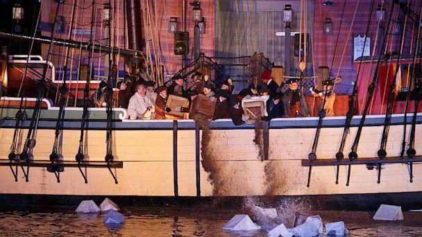 PHOTO: Boston Tea Party Ships