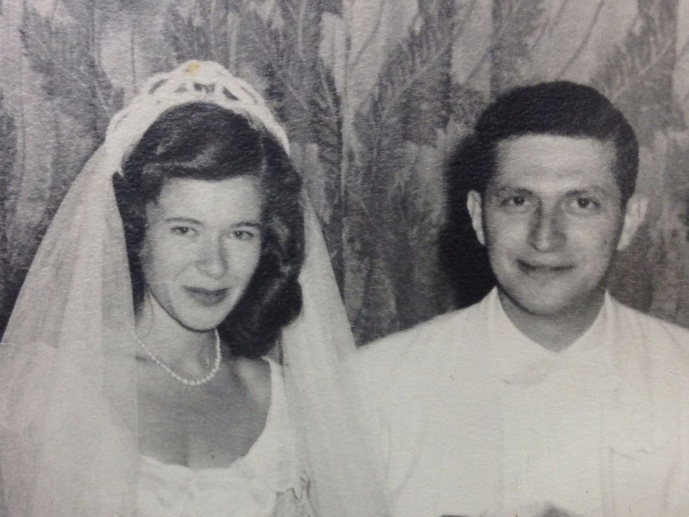 PHOTO: June 29, 1948:Charles & Bernalee Winter (parents of Bruce) were married at The Pfister hotel.