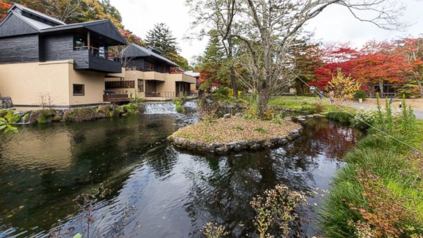 PHOTO: The Hoshinoya Karuizawa in Nagano is pictured here.